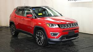 New 2018 Jeep Compass Limited Sport Utility In Braintree J15610