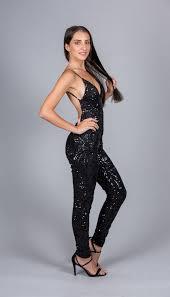 black sequin jumpsuit backless sequin jumpsuit black pretty inc