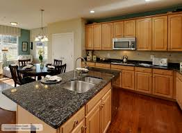 blue kitchen cabinets brown granite sapphire blue granite countertops in sterling va md d c