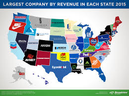 mapping the affordable housing deficit for each state in here are the companies with the biggest revenues in each state