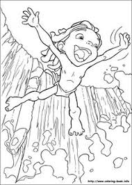 disney tarzan printable coloring pages disney obsessed