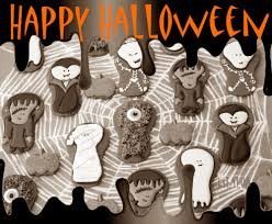 Decorate Halloween Cookies The Whole Halloween Gang On Cookies Lilaloa The Whole