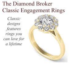 classic designs rings images Classic engagement rings in dallas the diamond broker jpg