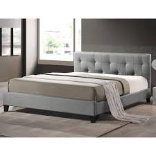 brookby place upholstered platform bed u0026 reviews birch lane