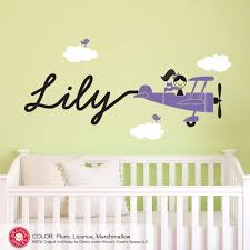 Wall Decals For Girl Nursery by Wall Decals Graphic Spaces