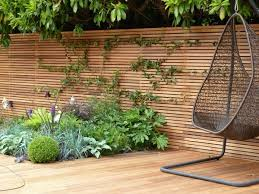 Patio And Deck Ideas Privacy Fence Screen Ideas For The Garden And Patio Area Deavita