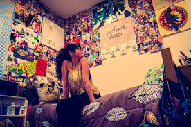 Bedroom Decor Ideas For College Student Fascinating Wall Decoration Ideas For College Girls Photos Design