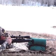 Portable Bench Rest Shooting Stand Portable Shooting Rear Gun Rest Bag Set Front U0026 Rear Rifle Target