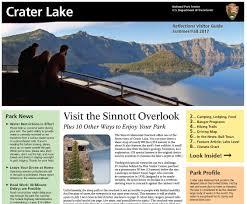 Department Of The Interior National Park Service Park Newspaper Crater Lake National Park U S National Park