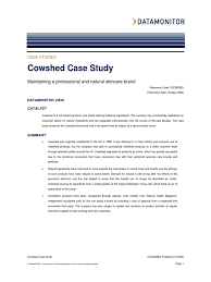 Internet Status Walled Garden by Cowshed Case Study Analytics Brand