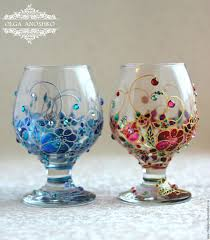 wine glass painting buy brandy glass