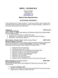 Insurance Sales Representative Resume Medical Equipment Sales Resume Resume For Your Job Application