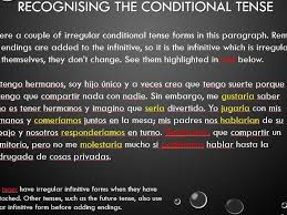 spanish conditional tense by quellomayo teaching resources tes