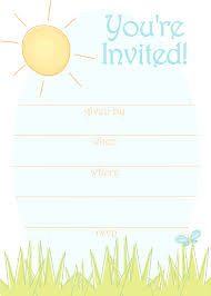free generic printable partty invite trials ireland