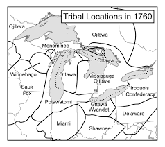 Map Of Michigan Lakes Maps An Indigenous History Of North America