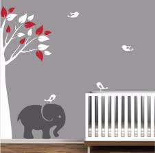 Removable Wall Decals Nursery by Compare Prices On Elephant Wall Decal Nursery Online Shopping Buy