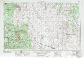 United States Topographical Map by Flagstaff Topographic Map Sheet United States 1970 Full Size