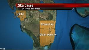 Miami Dade County Map by 2 More Zika Virus Cases Reported In Miami Dade County