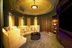 Home Theater Room Decor Design by Diy Cool Home Theater Ideas Pictures