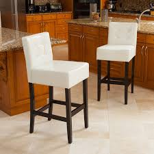 chairs for kitchen island bar stools counter chairs for kitchen island backless leather