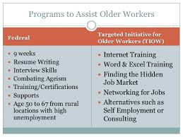 Resume For Older Workers The Plight Of Older Workers