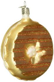 amazon com old world christmas bagel glass blown ornament home