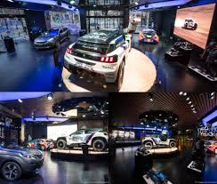 peugeot pars sport peugeot avenue paris pays tribute to team peugeot total torque