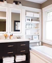 Recessed Shelves In Bathroom 15 Exquisite Bathrooms That Make Use Of Open Storage