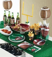 football party decorations football party decorations for celebration all in home decor ideas