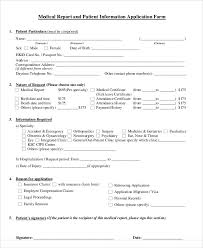 medical certificate form patient report 9 medical report