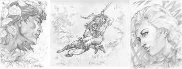 tarzan jane triptych nathan evans u0027s isherwood geof comic