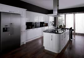 kitchen white shaker kitchen cabinets solid laminate flooring