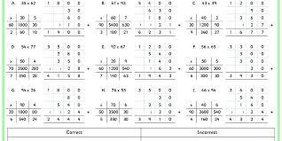 sorting grid method multiplication classroom secrets