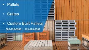 pallet express corp rochester ny pallets and skids youtube
