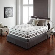 Serta Bed Frame Iseries Merit Super Pillow Top Mattress Serta Mattress Modern