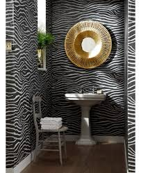 wallpaper with glitter effect a stunning zebra print wallpaper features a raised glitter gel