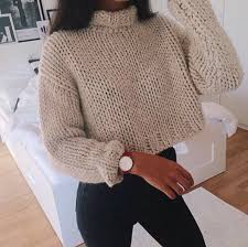 knitted sweater sweater wooly knitwear knitted sweater white