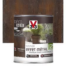 deco entree exterieur peinture de finition effet métal extérieur déco v33 métal rouillé