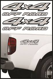 Dodge Cummins Truck Decals - 4x4 offroad decals truck sticker decal nissan frontier 2 pack
