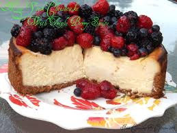 Cheesecake Decoration Fruit Cheesecake From Cupcakes To Caviar