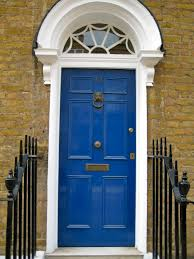 blue front door paint colors paint a front door demystifying