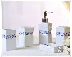 Ceramic Bathroom Accessories by White Honeycomb Bath Accessories White Ceramic Bathroom