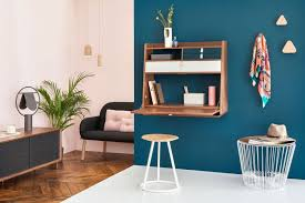 bureau escamotable 7 idées de bureau mural rabattable pour petits espaces