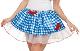 dorothy halloween costumes for kids amazon com rubie u0027s costume co women u0027s wizard of oz dorothy skirt