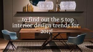 5 interior design trends for 2017 colorado casual furniture