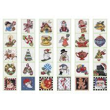 bucilla seasonal counted cross stitch ornament kits