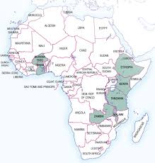 africa map all countries africa map all projects sairla project countries flickr
