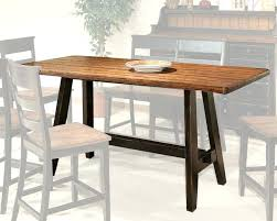 bar height dining room table sets patio set counter with shelves