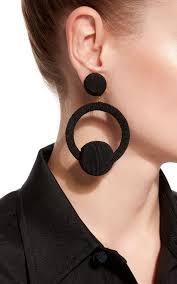 hoop la earrings hoop la la earrings by de ravenel accessorize