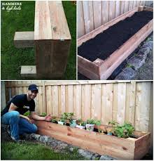 What Type Of Wood For Raised Garden - the 25 best tall planters ideas on pinterest outdoor potted